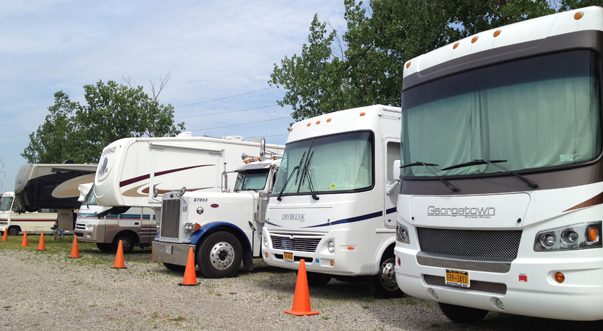 Lockport NY Self Storage RVs